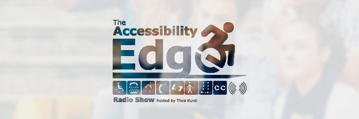 Header image for the Accessibility Edge radio show